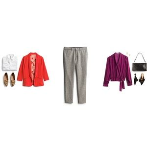 Kut from the Kloth Katherine straight leg trousers